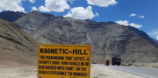 Magnetic Hill of Ladakh