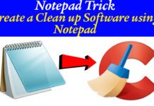 Notepad Trick